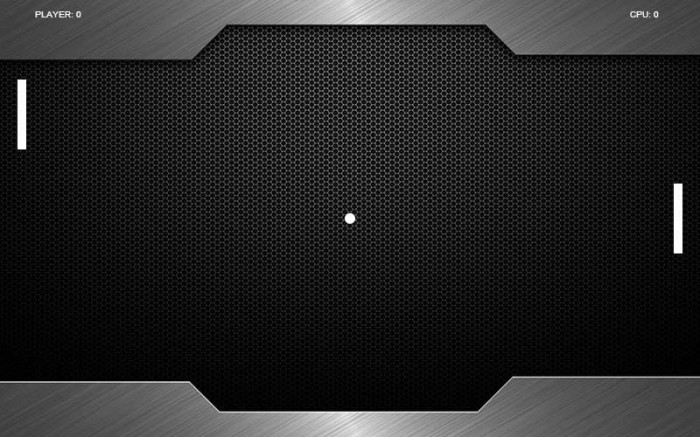 Pong in HTML5